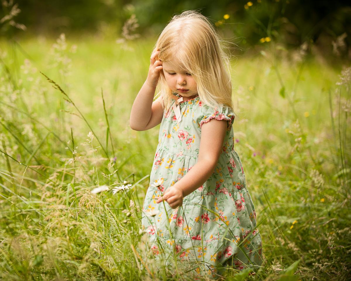 A Fine Art Portrait of a girl outdoors