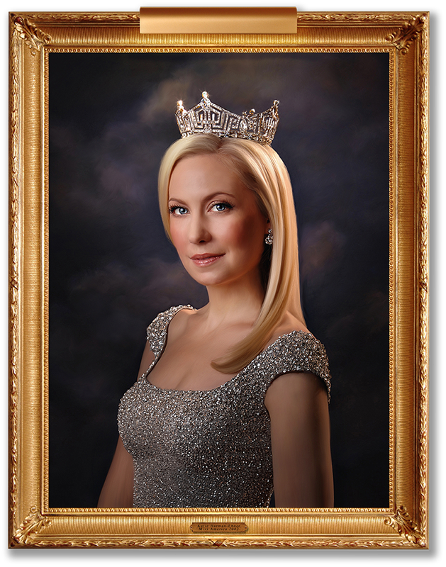 Fine Art Portrait of Katie Harman-Ebner, Miss America