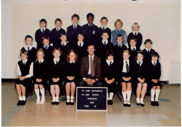 Dave's class: first year of senior school, 1983