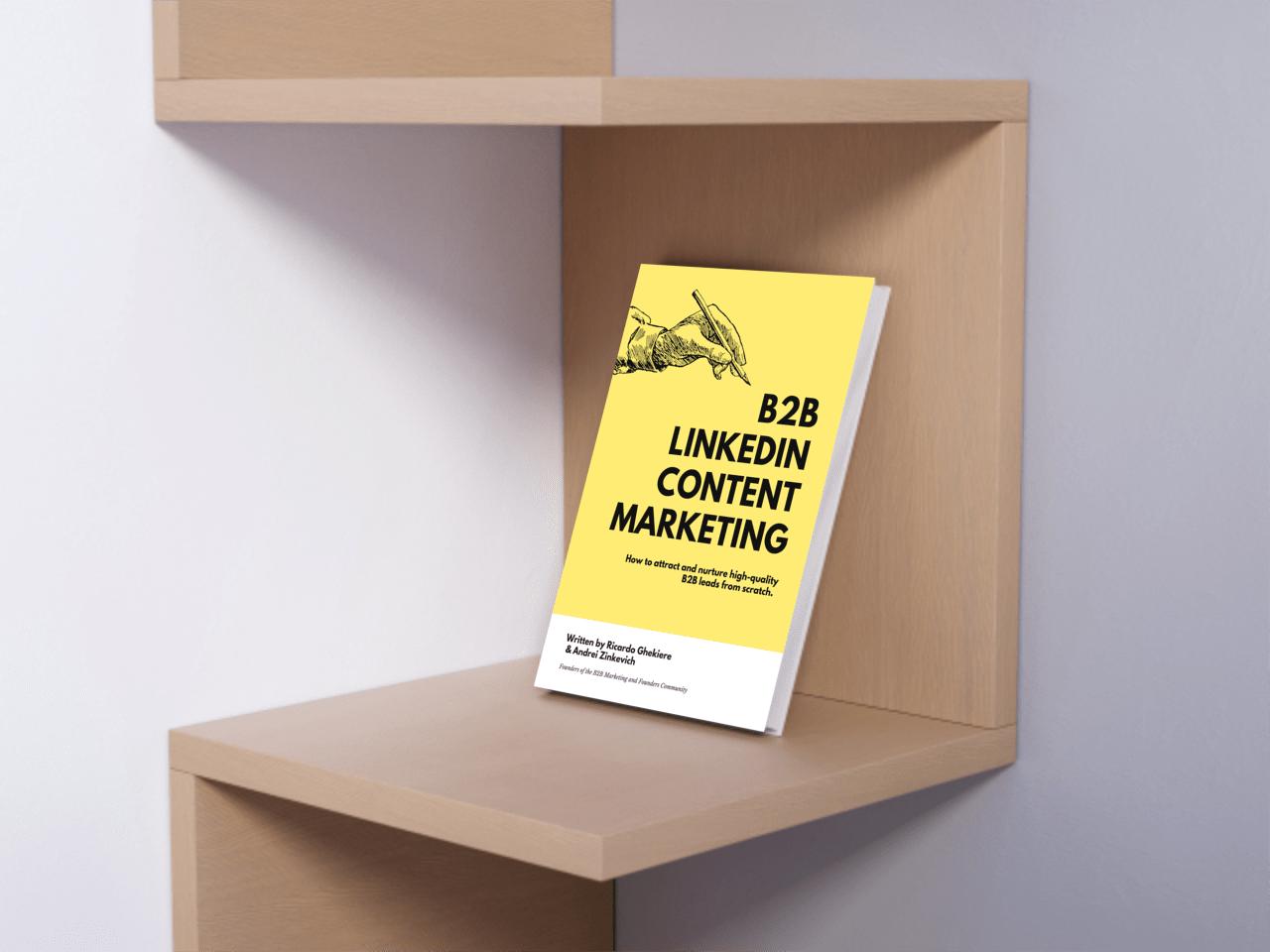 B2B LinkedIn Content Marketing Book