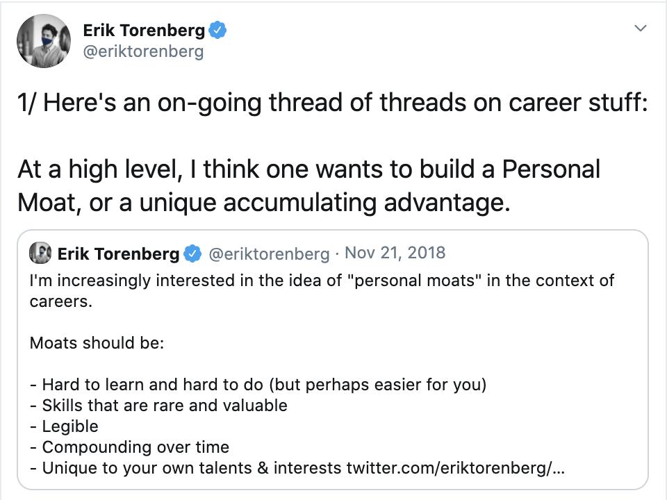 Erik Torenberg Career Advice