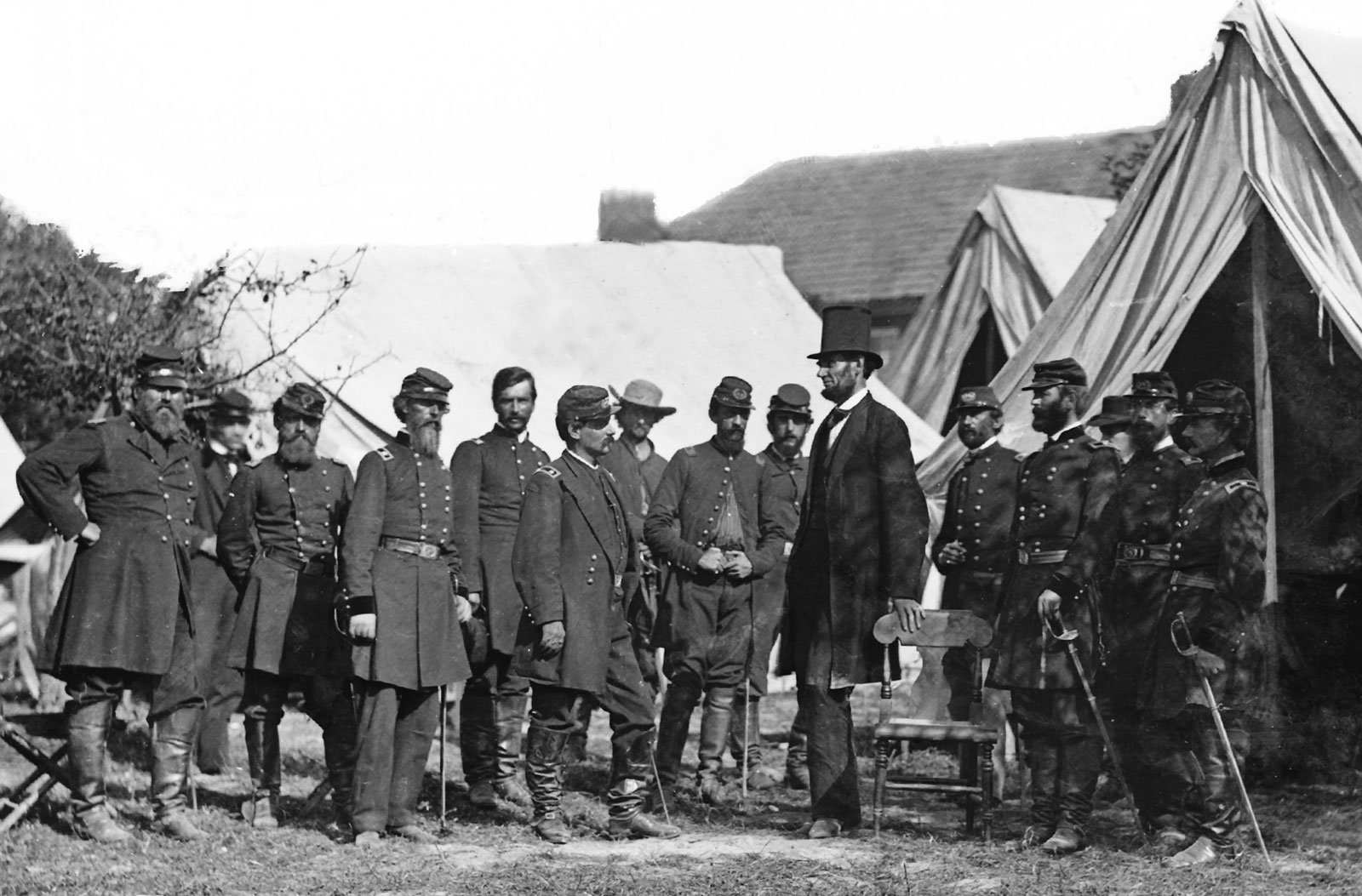 Abraham Lincoln Civil War Picture
