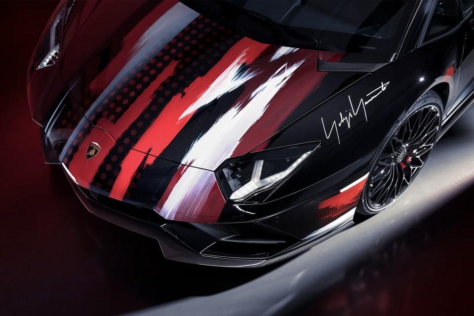 Lamborghini styled by Yohji Yamamoto