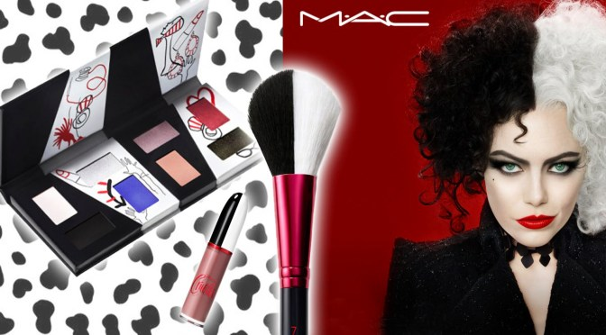 MAC makeup designed for Disney Cruella partnership