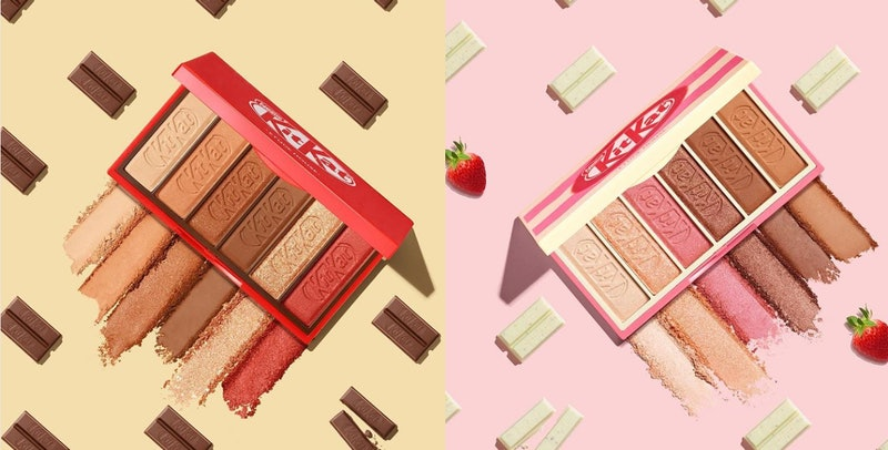 Etude House makeup presented in a tin to look like a Kit Kat packet