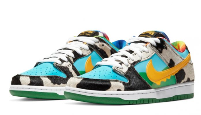 Nike shoes co-branded with Ben & Jerry's