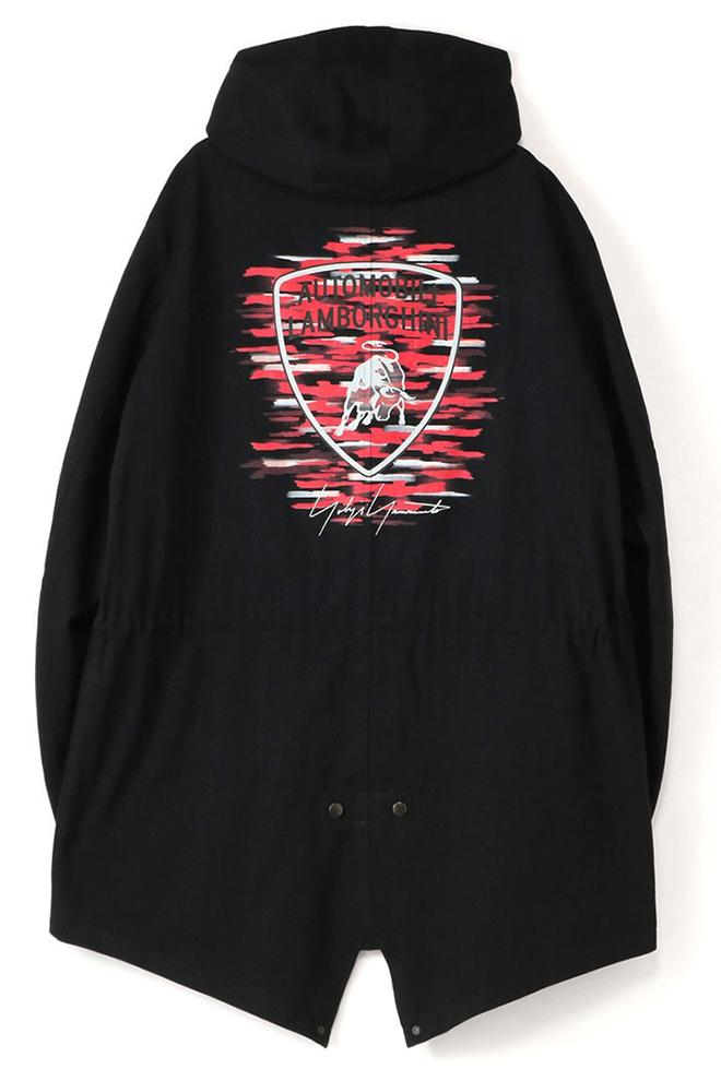 Yamamoto jacket with Lamborghini insignia