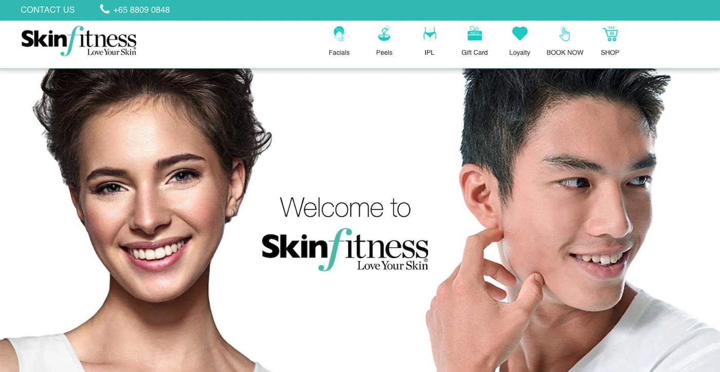 Skinfitness home page