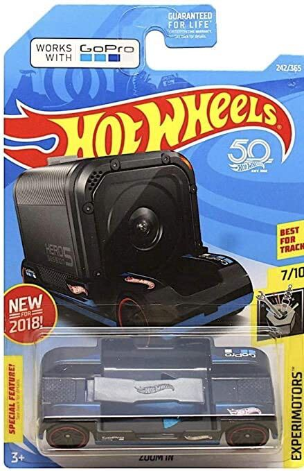 Hot Wheels special GoPro car in retail packaging