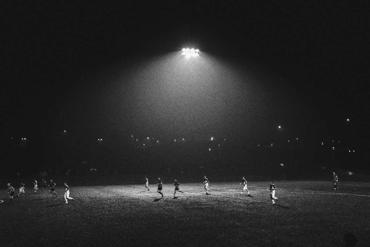 Soccer field night