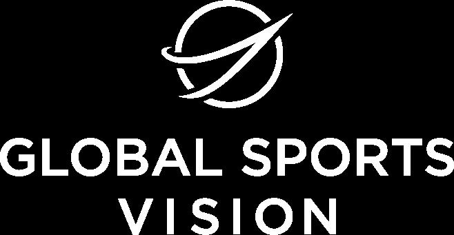 Global Sports Vision Logo White