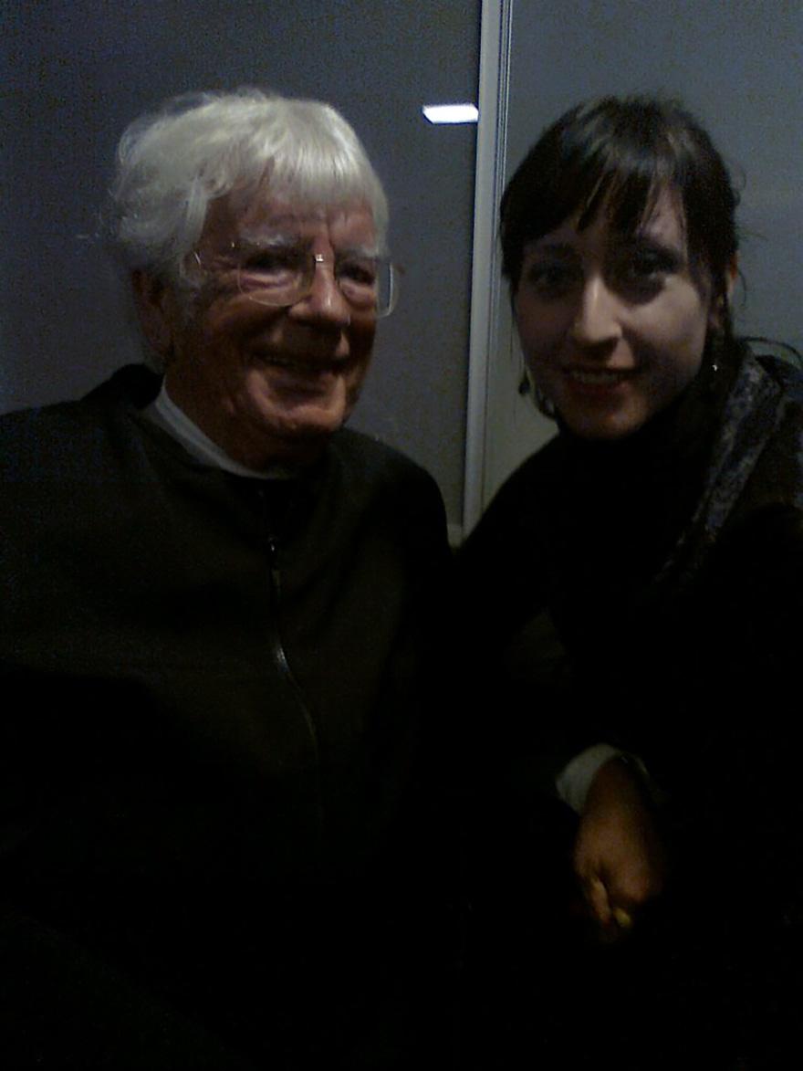 Lidia Vinyes Curtis with Helmut Rilling