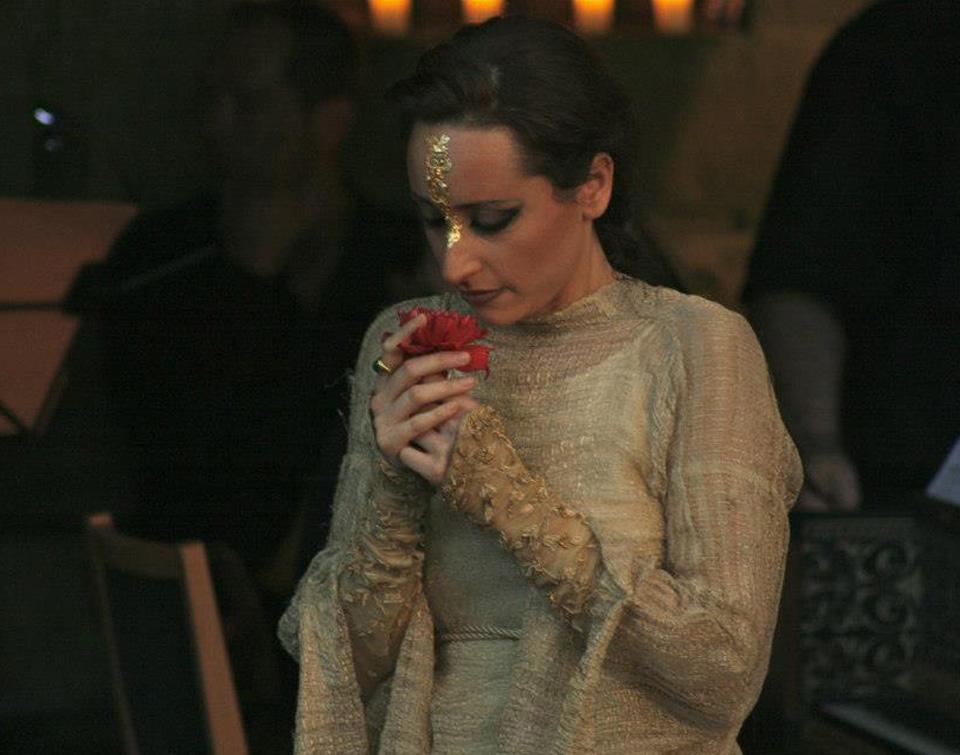 Lidia Vinyes Curtis dressed as Theodora by G.F Händel - 2010