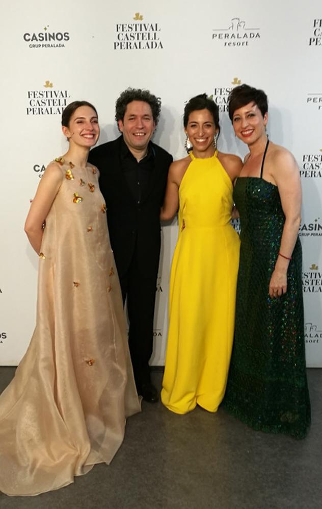 F.Mendelssohn's Midsummer night's dream with G.Dudamel, Maria Valverde and lovely Mechi Gancedo. 2019