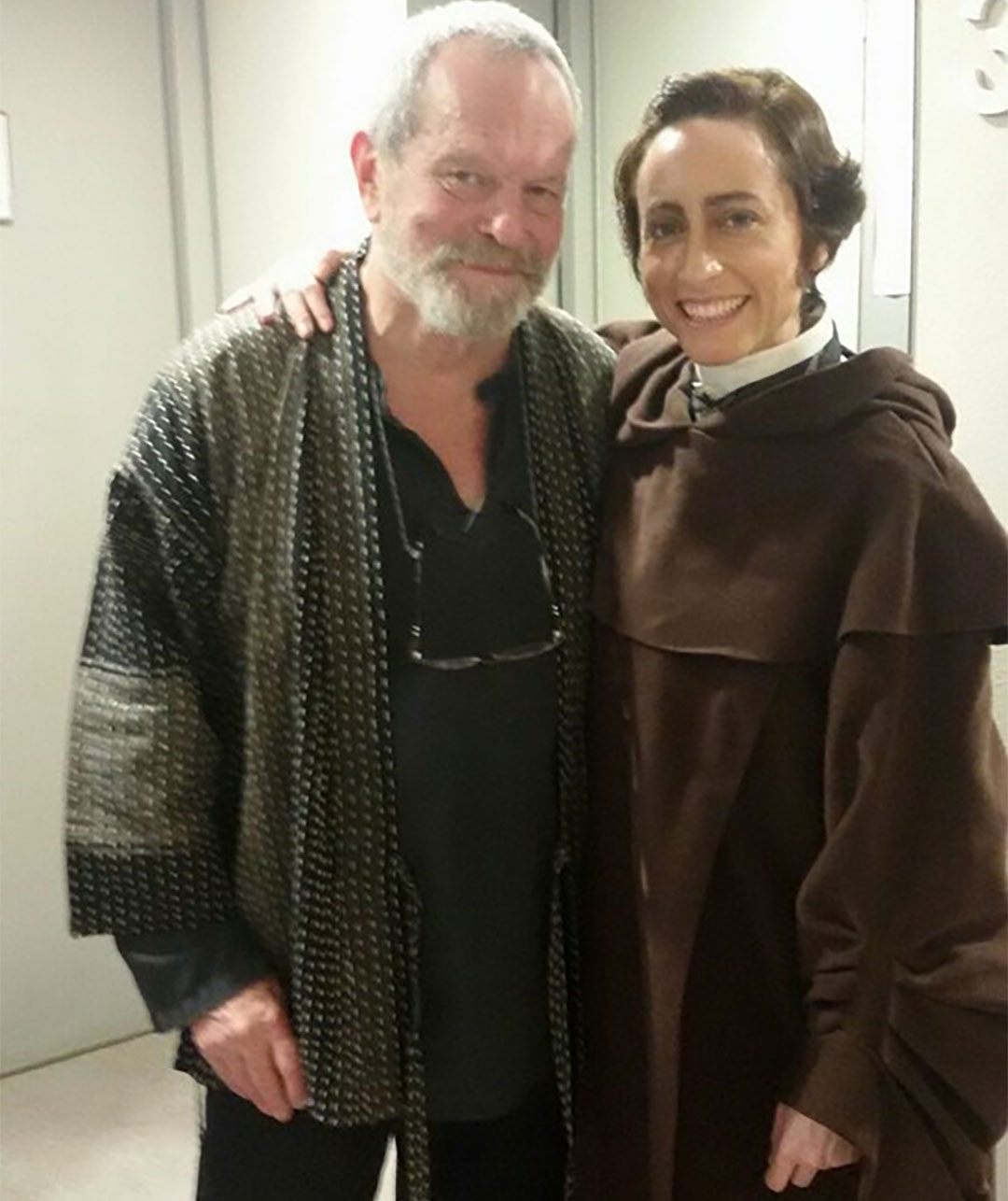 Lidia Vinyes Curtis with Terry Gilliam
