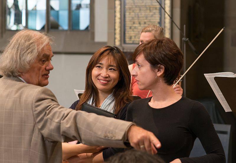 Lidia Vinyes Curtis at Musikfest Stuttgart 2015 with the wise S.Kuijken