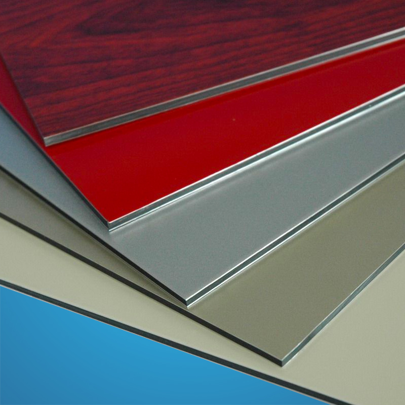 Aluminium composite sheets ACM
