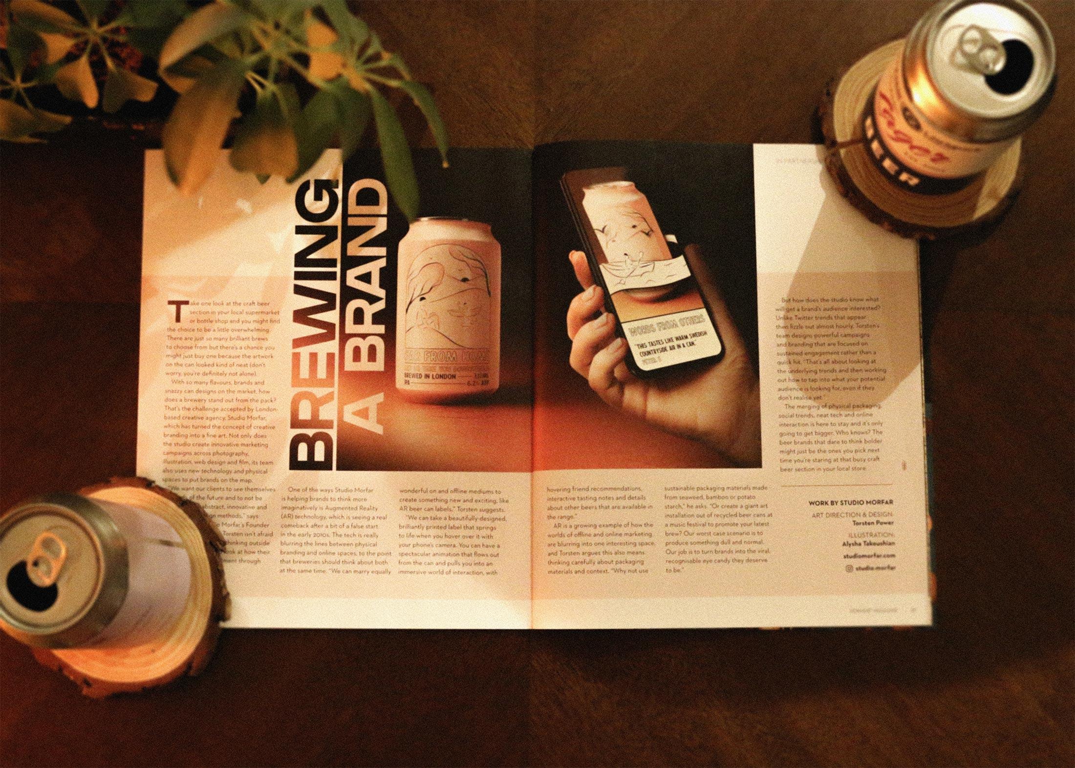 Magazine Shot
