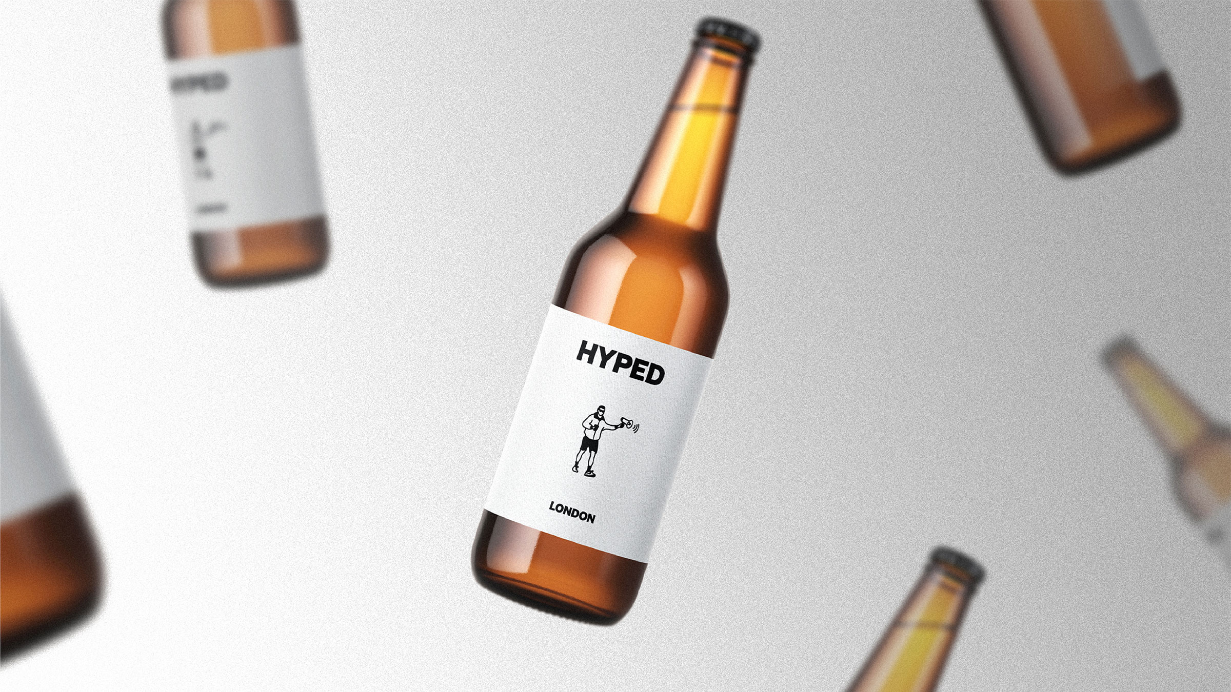 Hyped London Beer Bottles