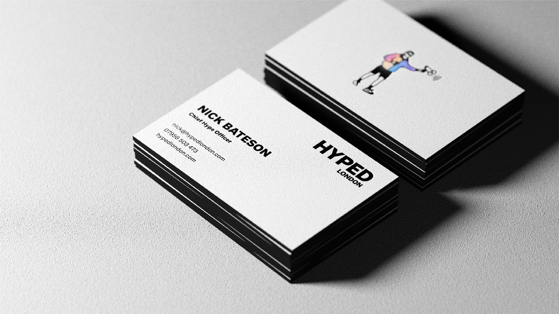 Hyped London Business Cards