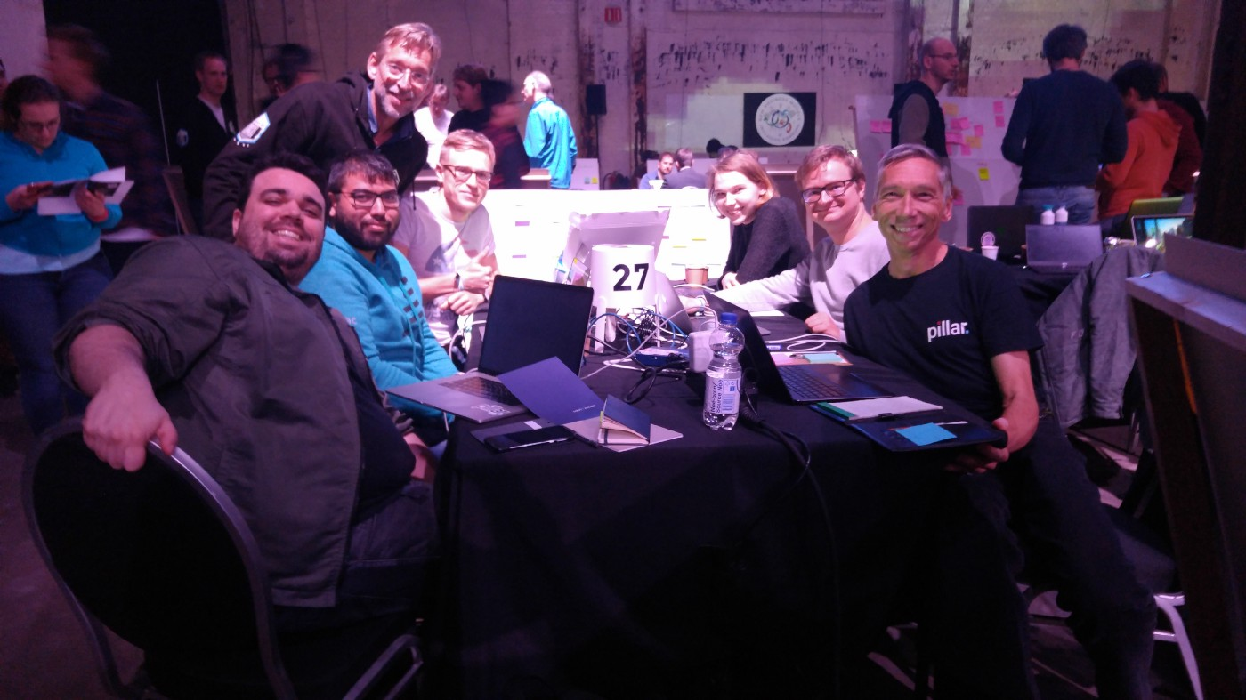 The Odyssey Hackathon, through Pablo's lens