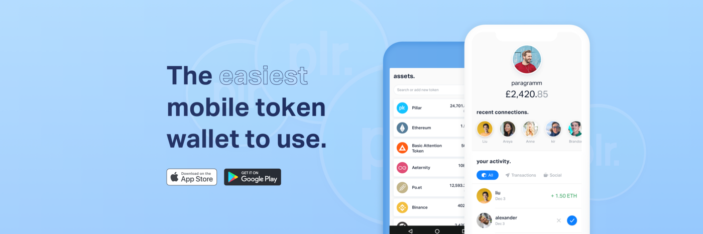 The new era is here: Pillar Wallet now available for Android and iOS