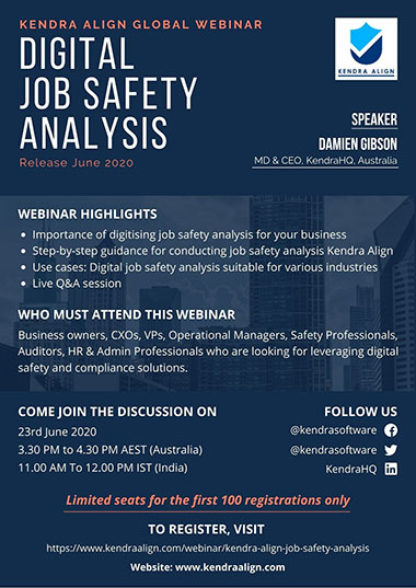 Digital Job Safety Analysis - Global Webinar | Kiri Align