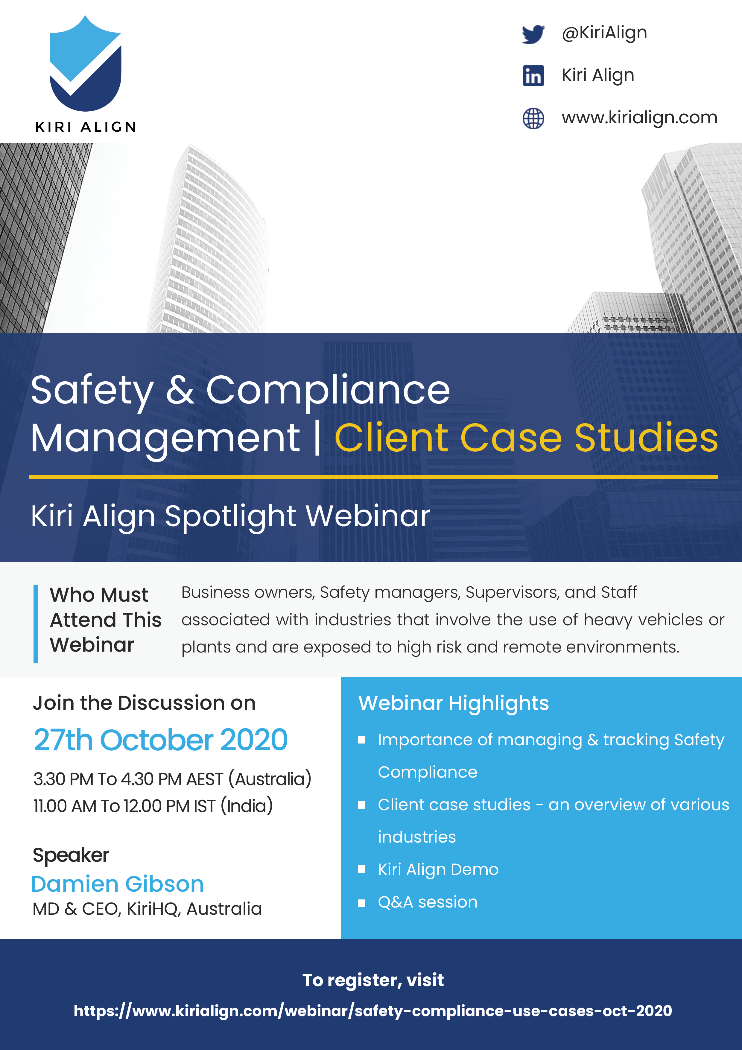 Safety and Compliance Management | Case Studies