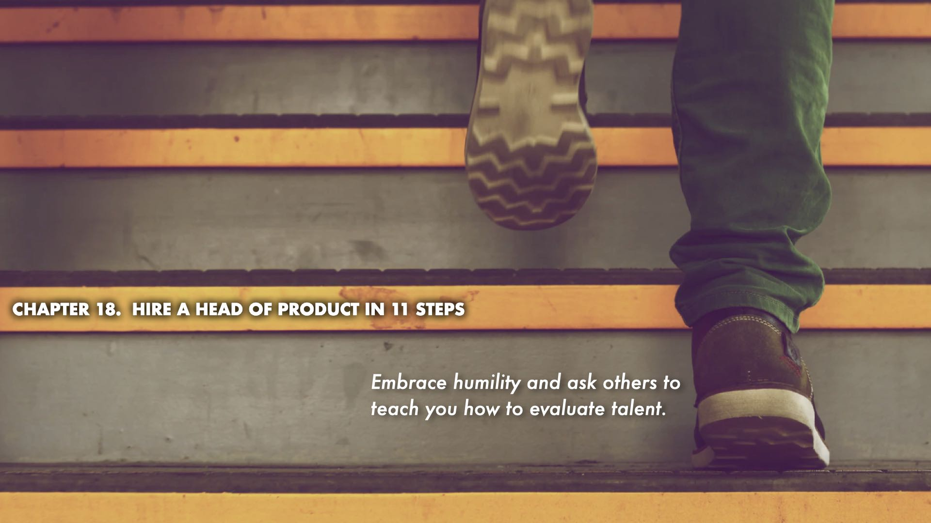 Hire a Head of Product in 11 Steps