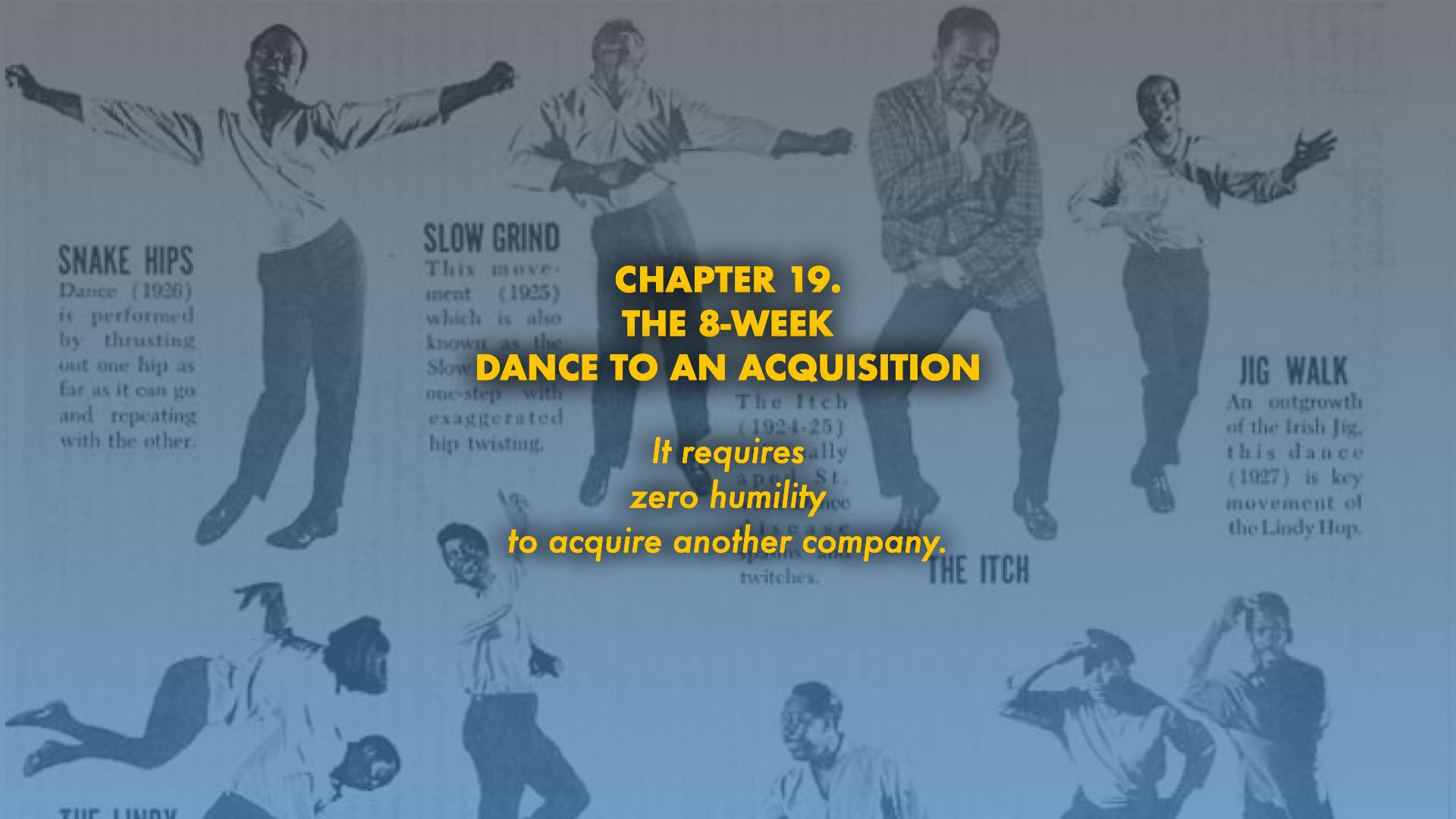 The 8-Week Dance to an Acquisition