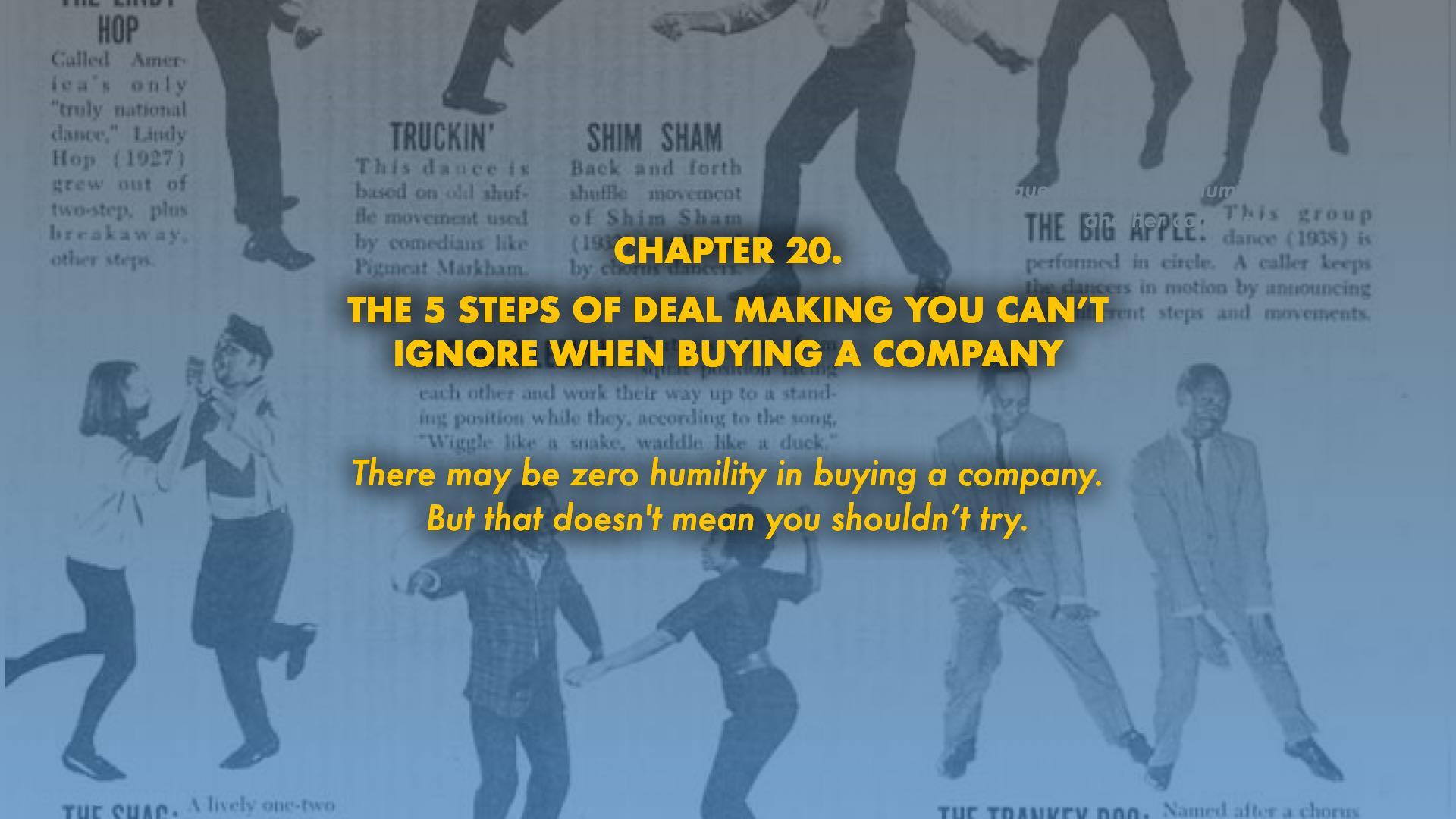 The 5 steps of dealmaking you can't ignore when buying a company