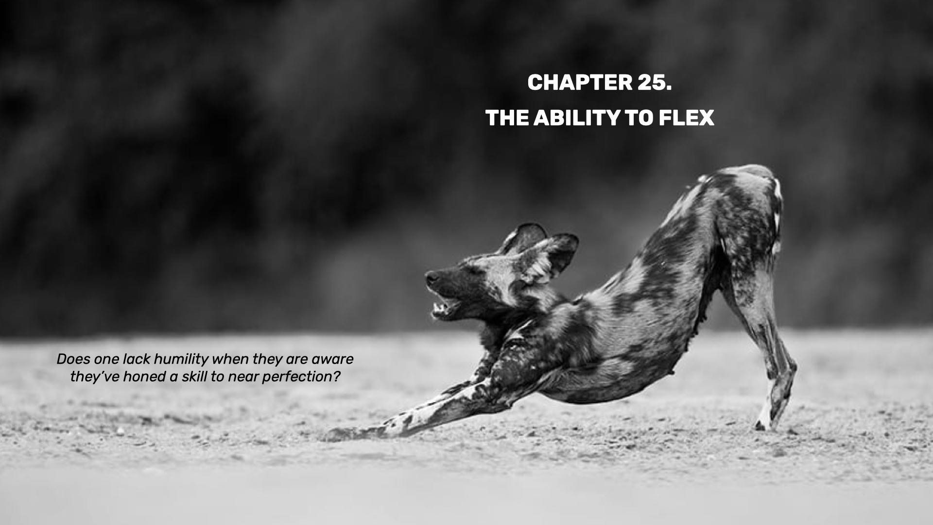 The Ability to Flex
