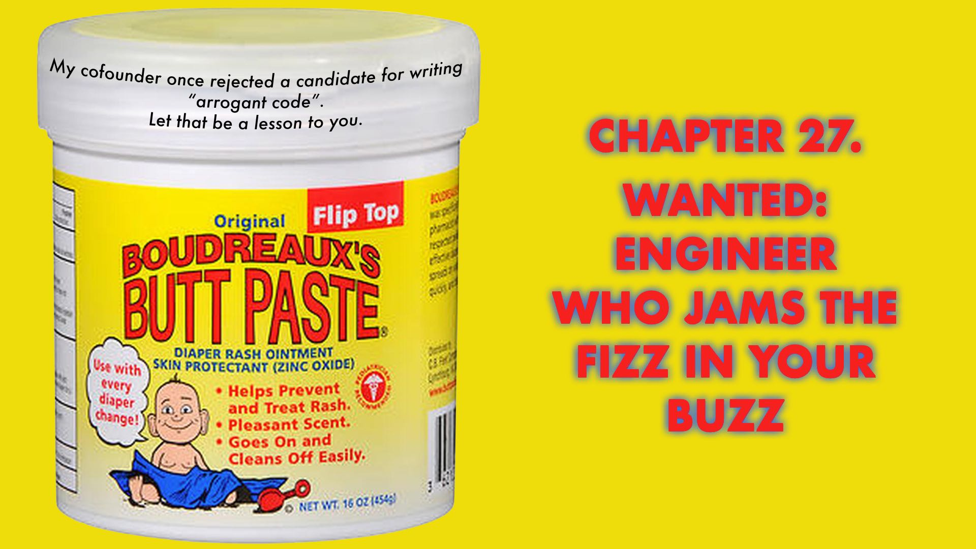 Wanted: Engineer Who Jams the Fizz in Your Buzz