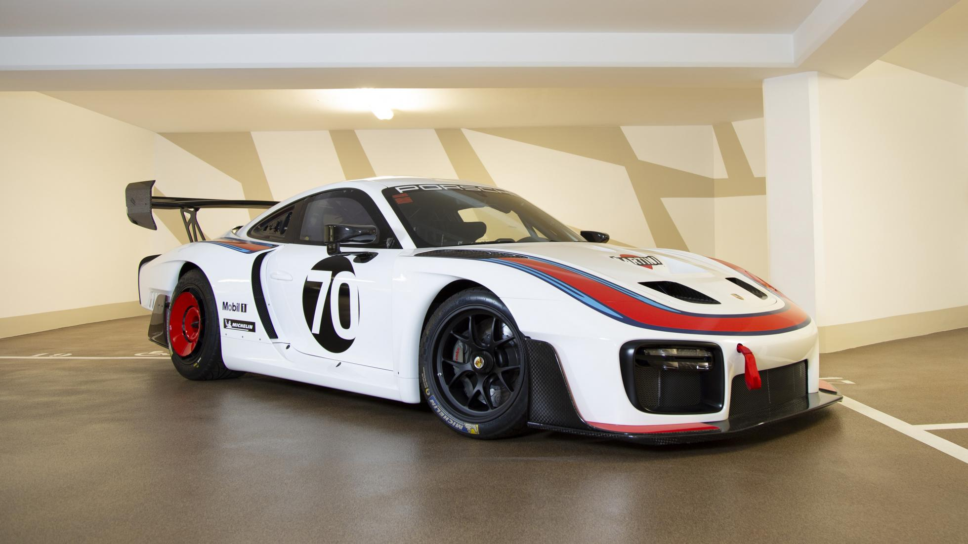 A Porsche 935 that's covered zero miles is up for auction