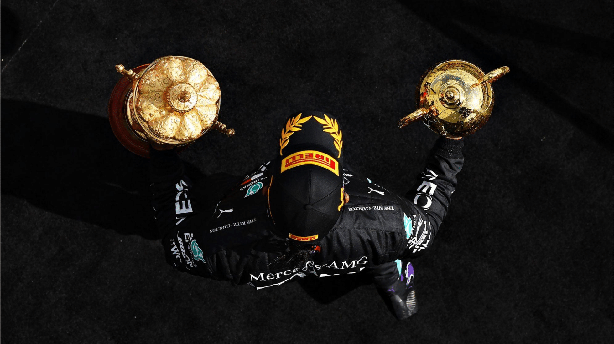Hamilton wins his home GP on 3 Wheels