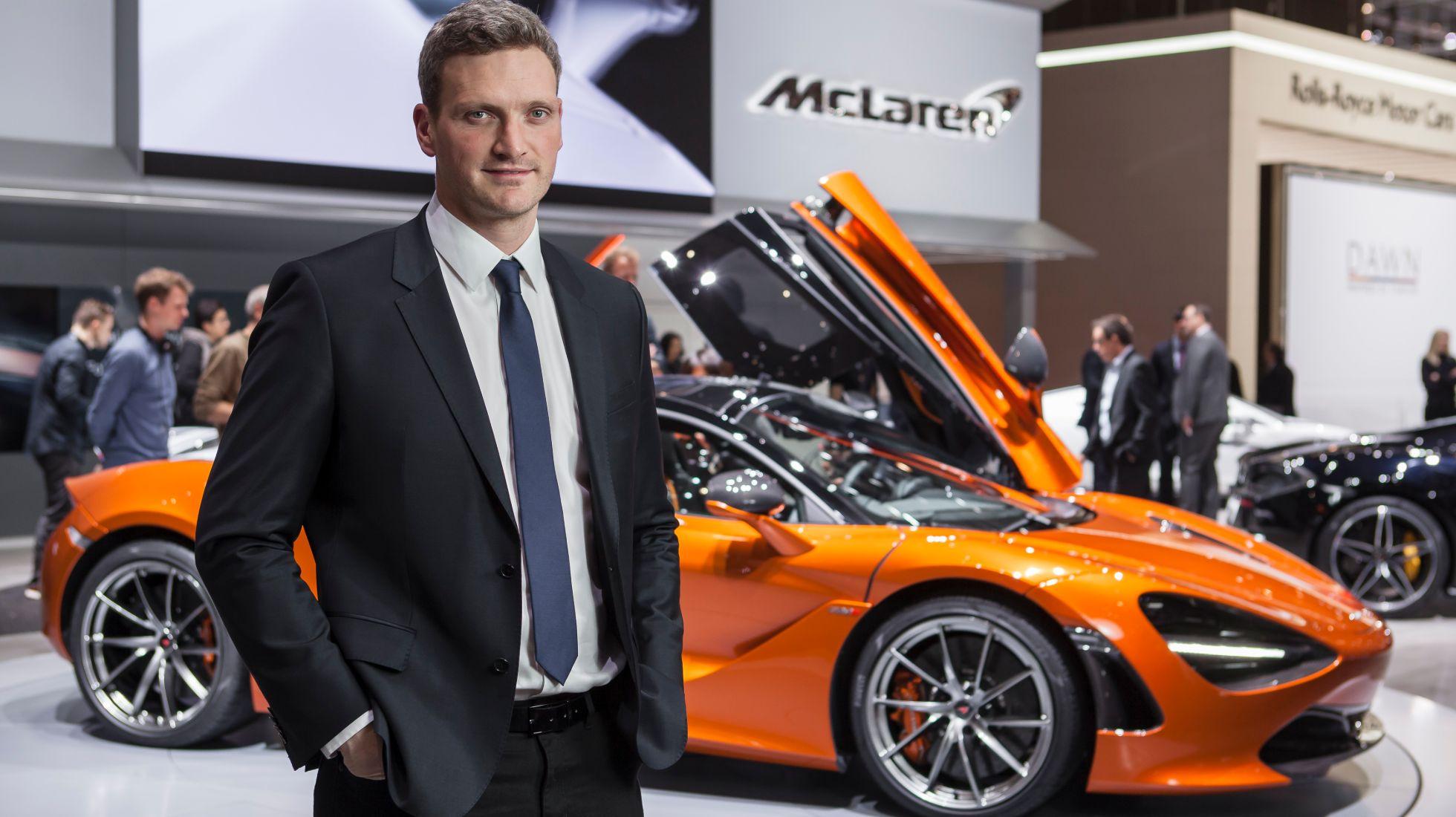 Meet the man responsible for the McLaren Automotive design portfolio