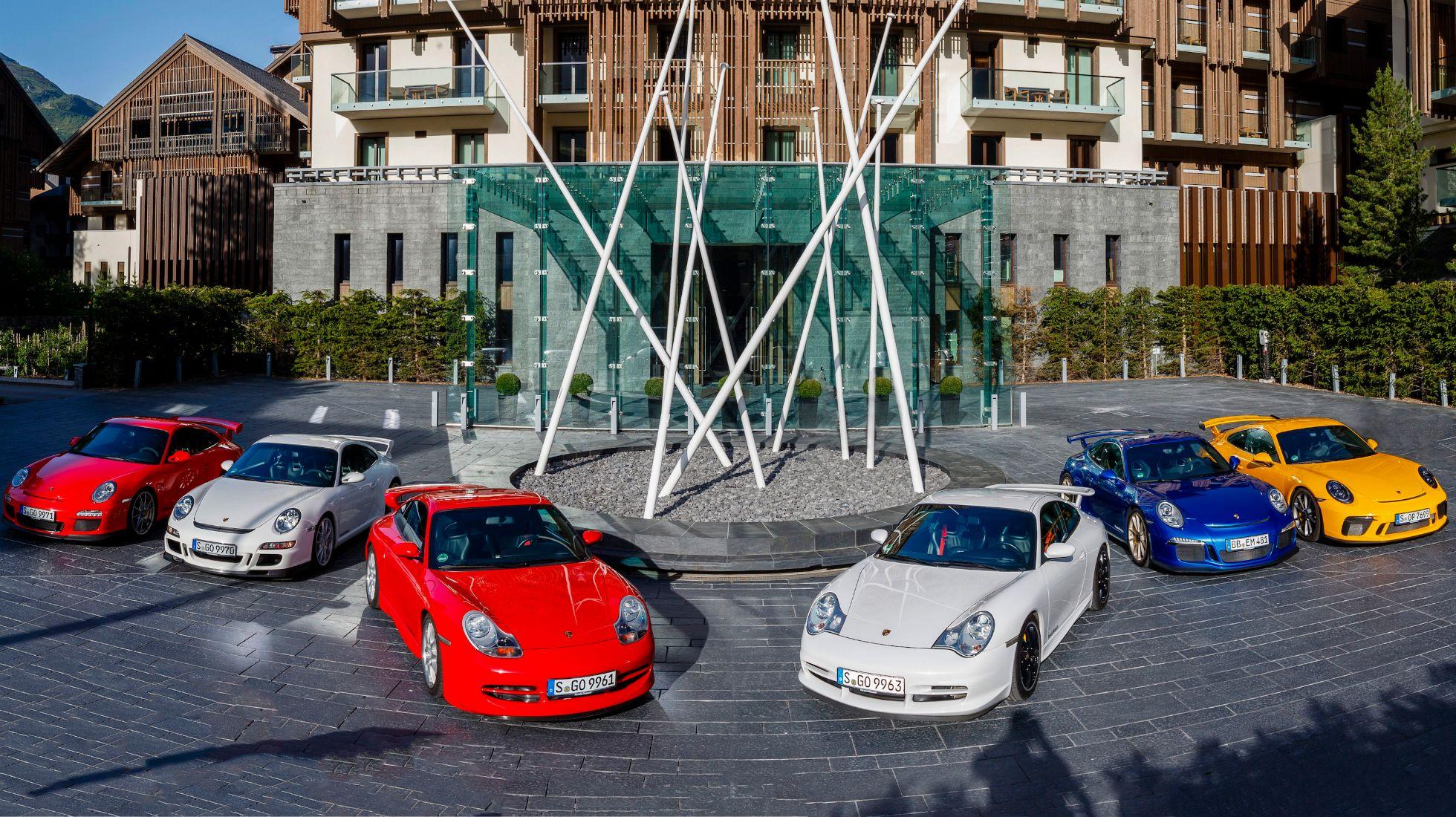 Porsche's 911 GT3 celebrates 21 years