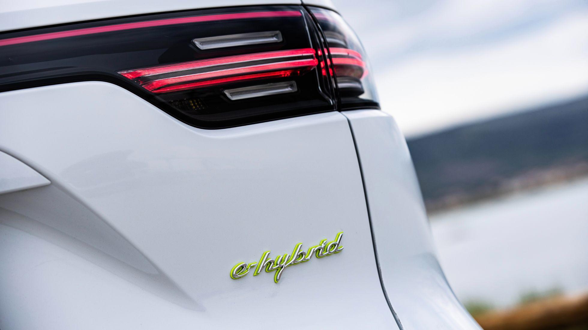 Porsche Cayenne e-hybrid models now boast additional electric range
