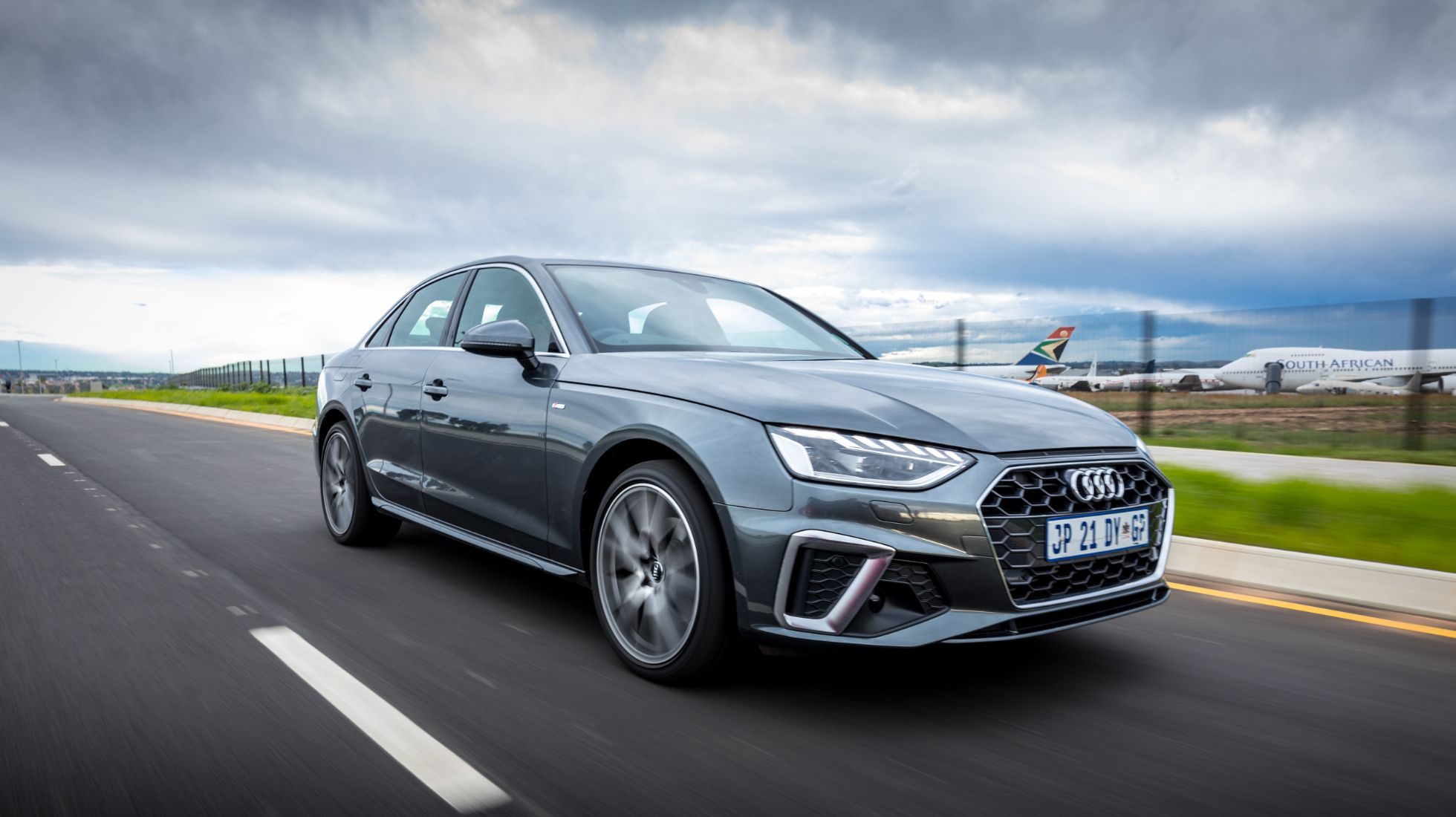 Audi's updated A4 bristles with new technology
