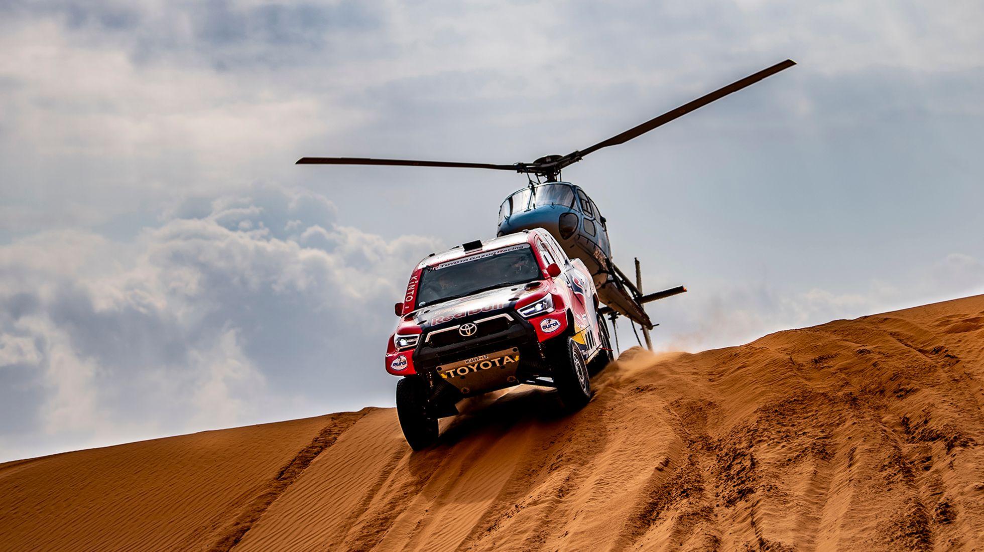 Dakar Review after Stage 8: Toyota's Al-Attiyah reels Peterhansel in