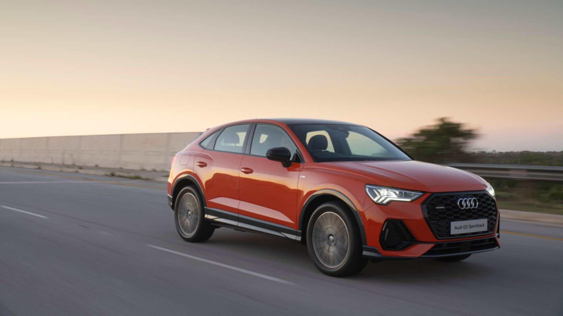 Audi's Q3 plays to the SUV-Coupe adoration.