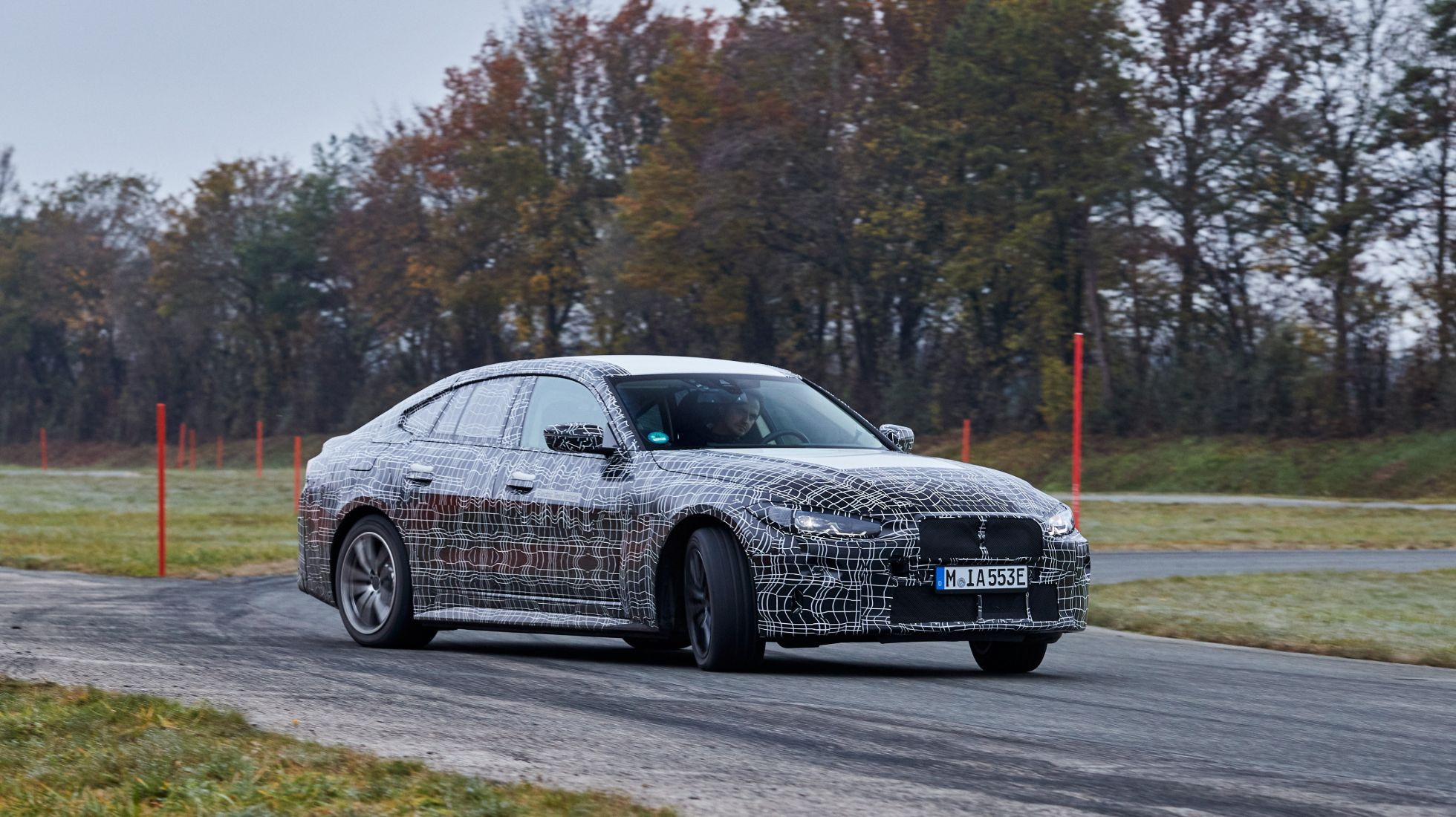 BMW i4 prototype put through final driving dynamics paces