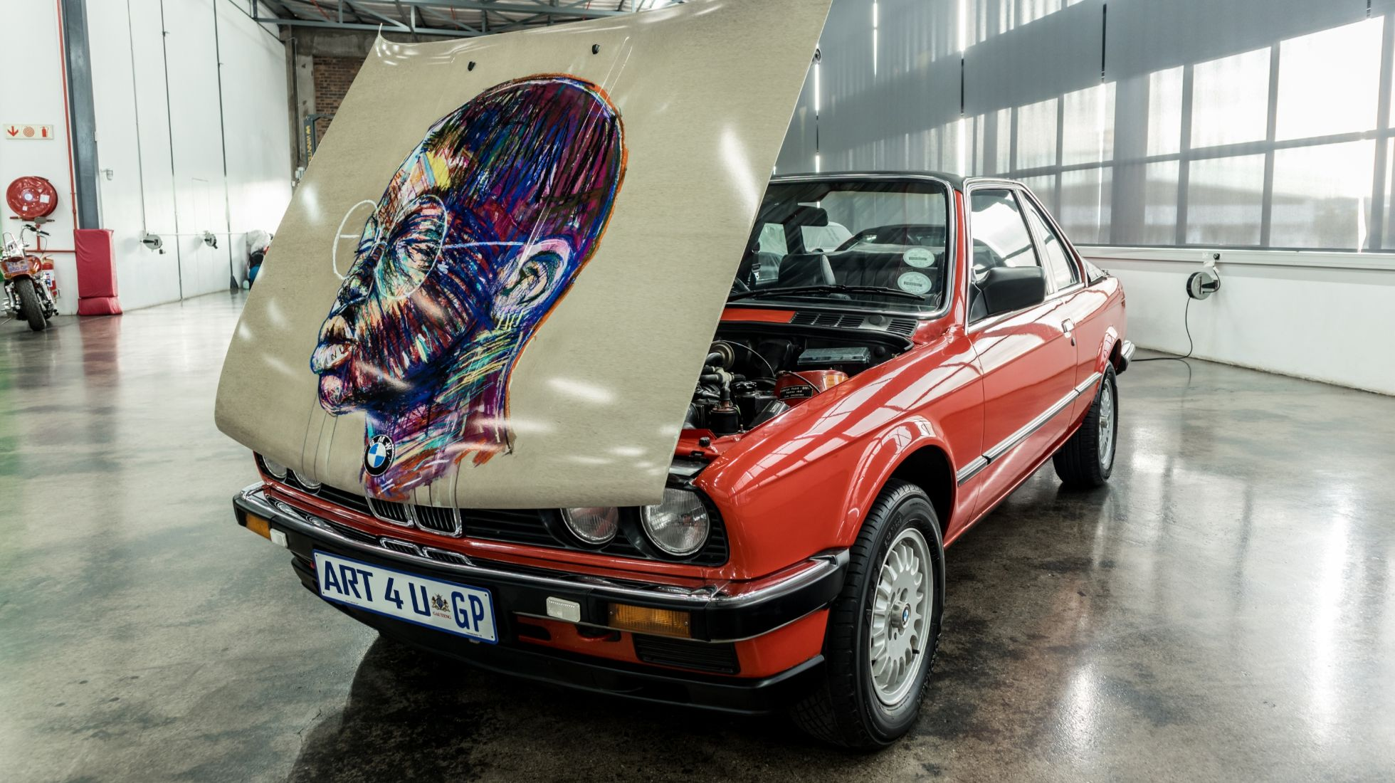 A tale of a unique BMW Art Car in Mzansi