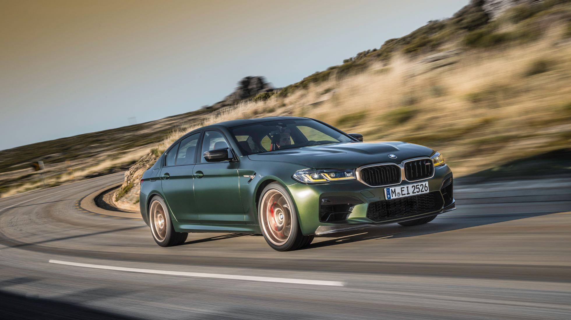 BMW M5 CS brings more power and dynamism to marque's apex performance sedan