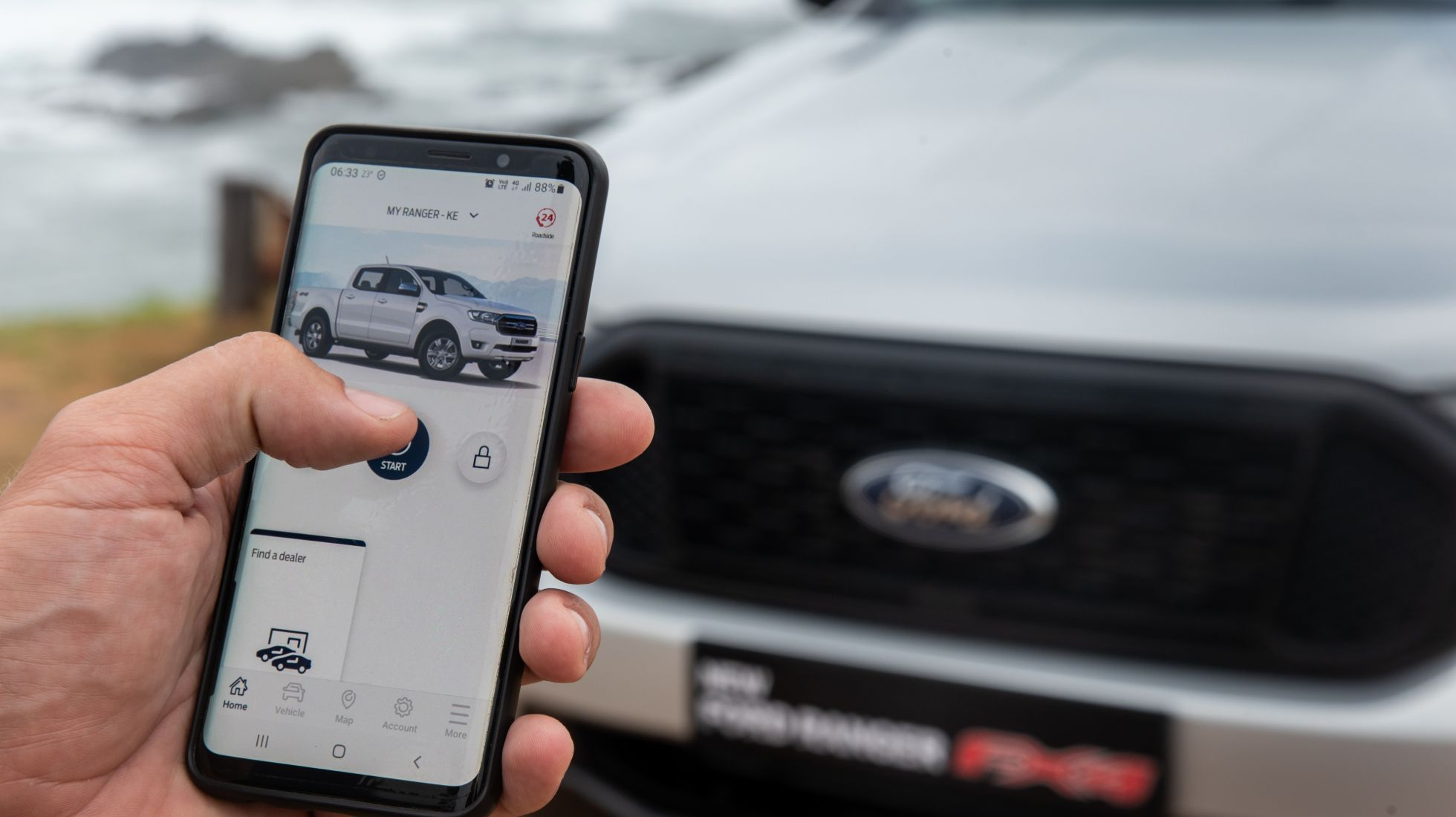 Ford Ranger FX4 introduces new Connected Vehicle Tech – Ford Pass