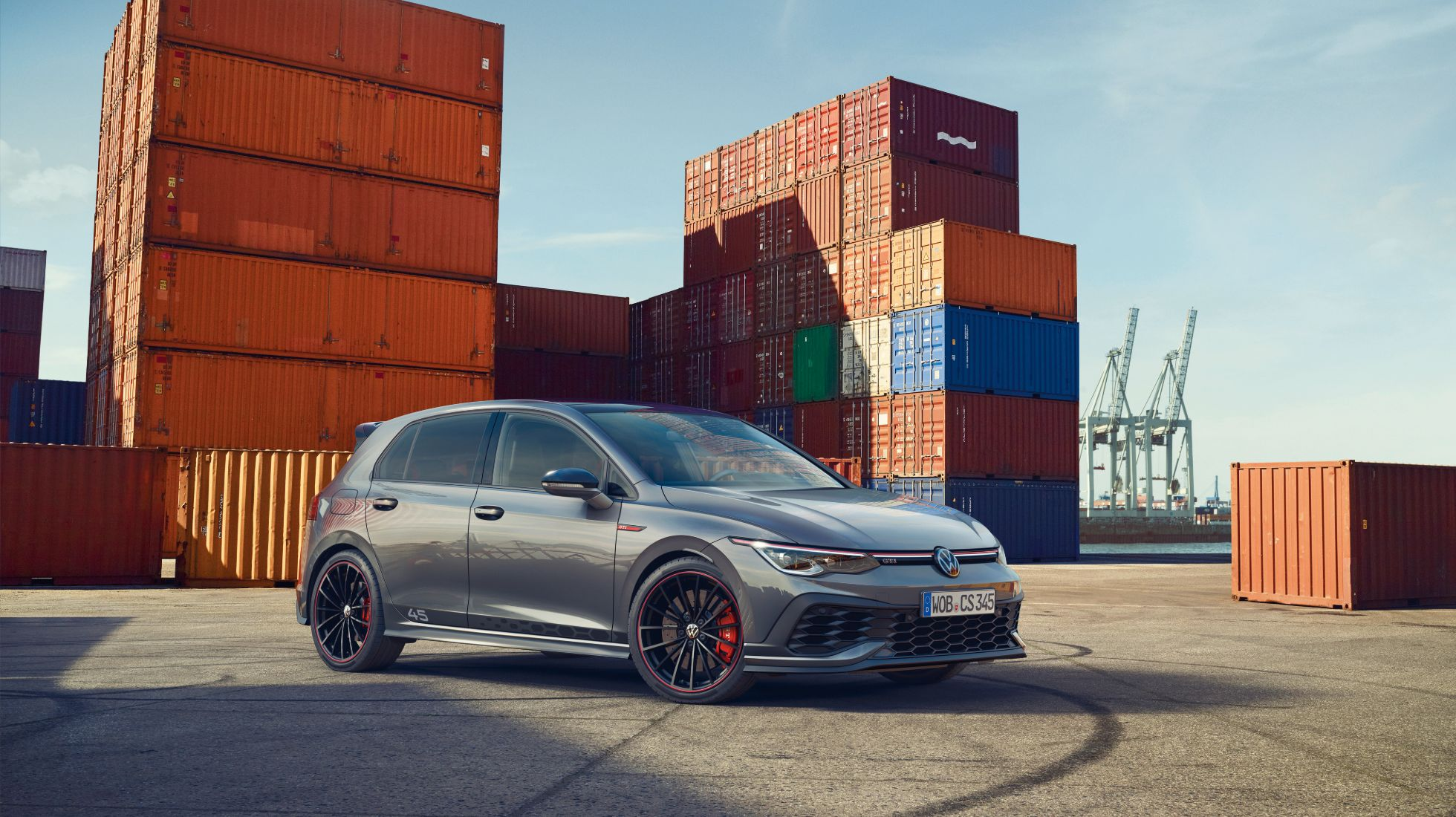 Golf 8 GTI Clubsport 45 revealed