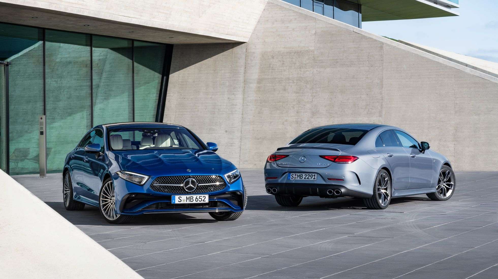 Merc's CLS receives styling tweaks for 2021