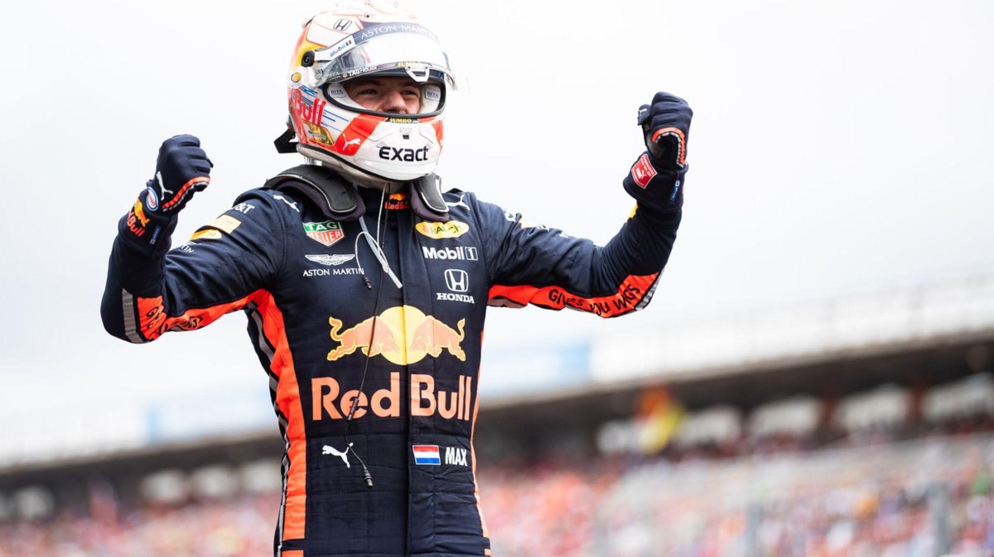 Max Verstappen opens his win tally in a damage & debris-strewn Imola race