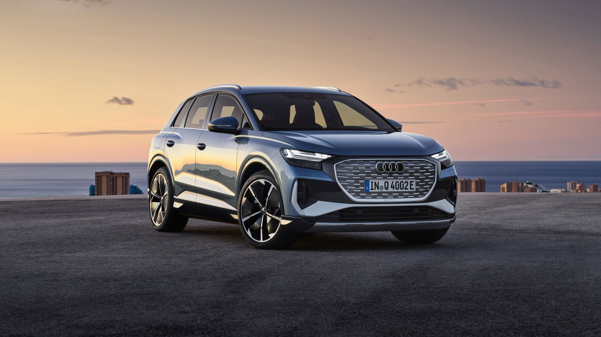 Audi has unveiled the Q4 e-tron SUV