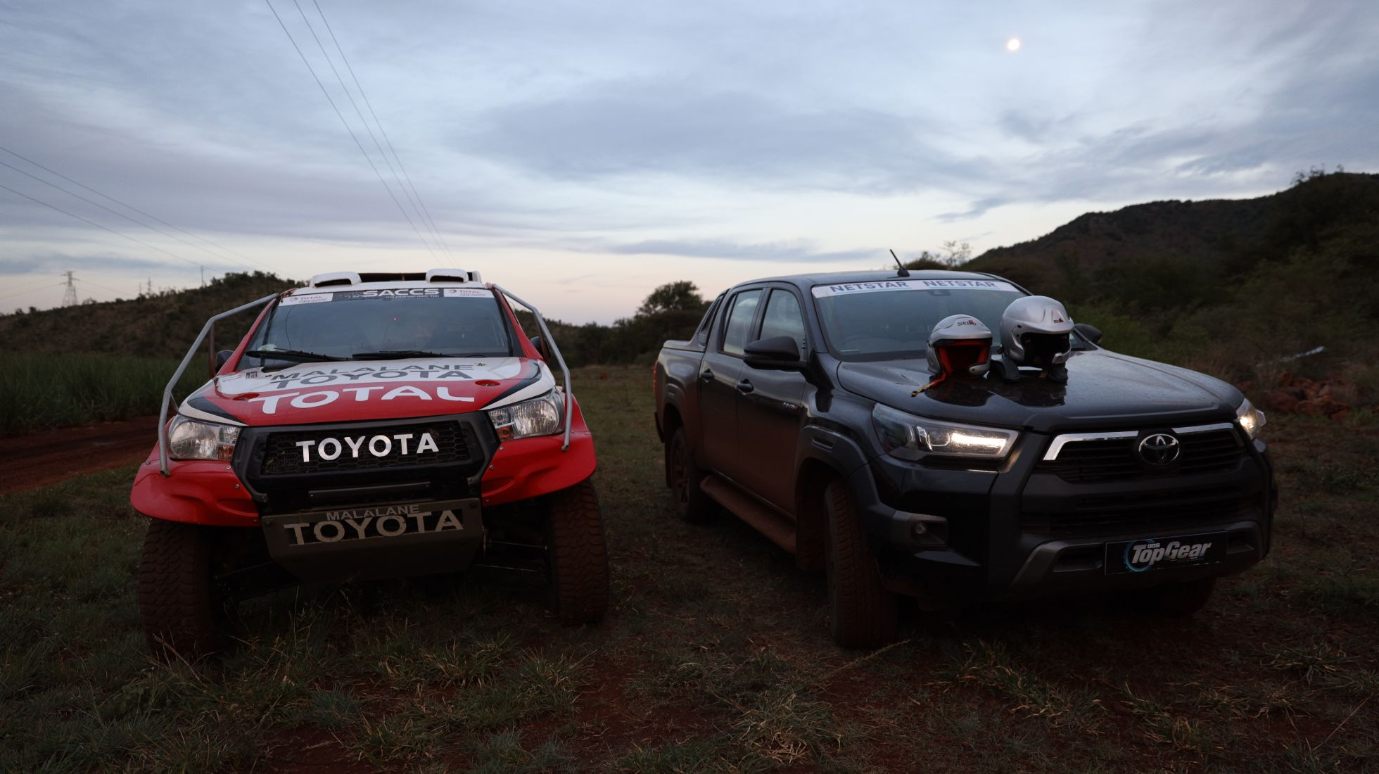 Nothing can quite prepare me as I go from one Hilux into quite another.